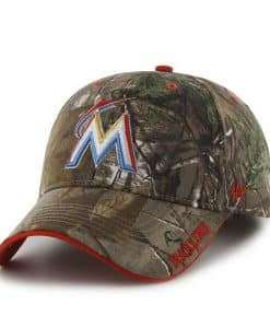 Miami Marlins Realtree Frost Realtree 47 Brand Adjustable Hat