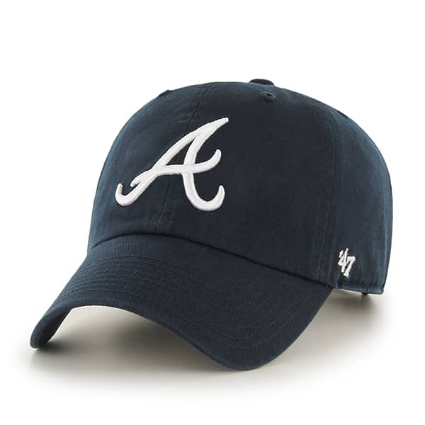 Atlanta Braves Clean Up Road 47 Brand Womens Hat