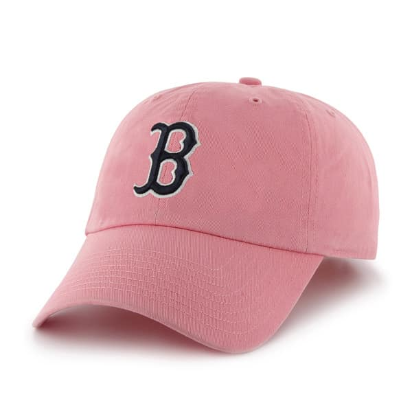 Boston Red Sox 47 Brand Women's Clean Up Pink Rose Hat