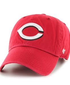 Cincinnati Reds Clean Up Home 47 Brand Adjustable Hat
