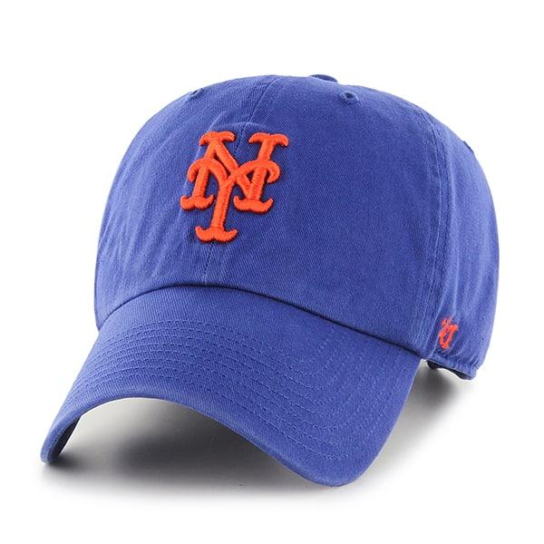New York Mets Clean Up Royal 47 Brand Adjustable Hat