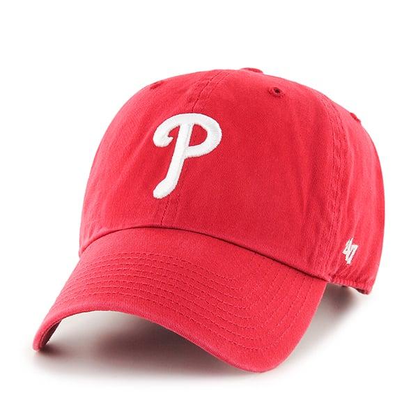 Philadelphia Phillies Clean Up Red 47 Brand Adjustable Hat