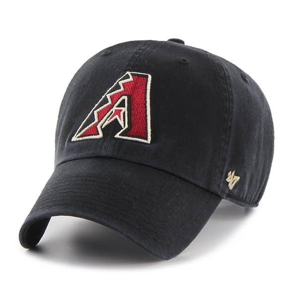 Arizona Diamondbacks Clean Up Black 47 Brand Adjustable Hat