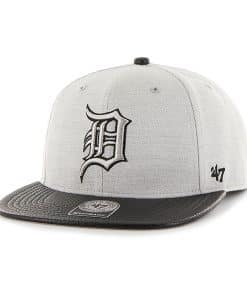 Detroit Tigers Riverside Captain Gray 47 Brand YOUTH Hat