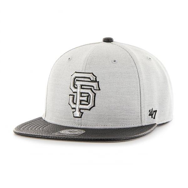 San Francisco Giants Riverside Captain Gray 47 Brand YOUTH Hat