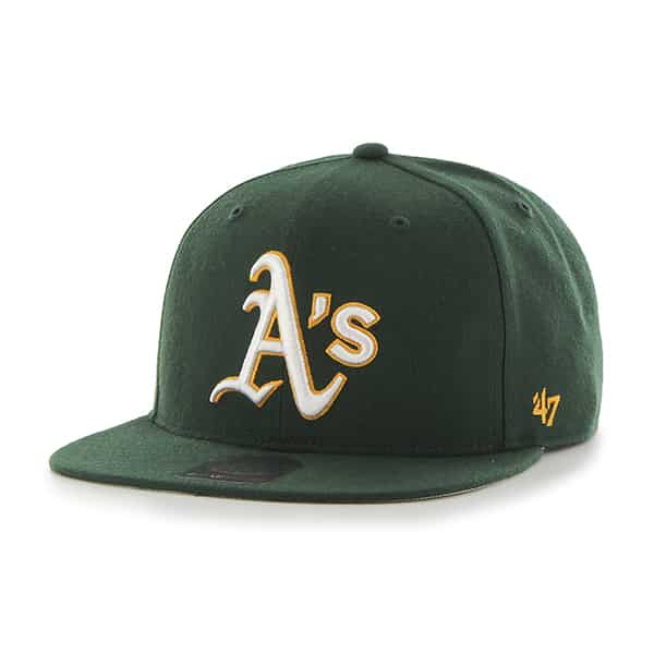Oakland Athletics Sure Shot Dark Green 47 Brand Adjustable Hat