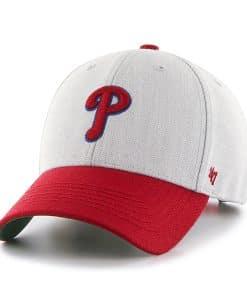 Philadelphia Phillies Thurman MVP Gray 47 Brand YOUTH Hat