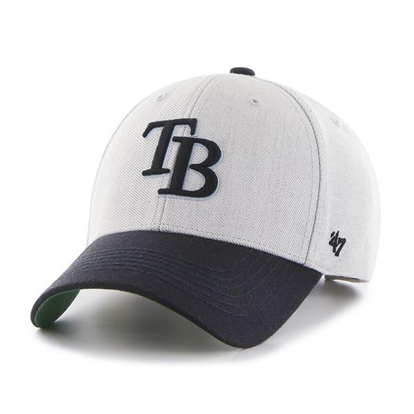 Tampa Bay Rays Thurman MVP Gray 47 Brand YOUTH Hat