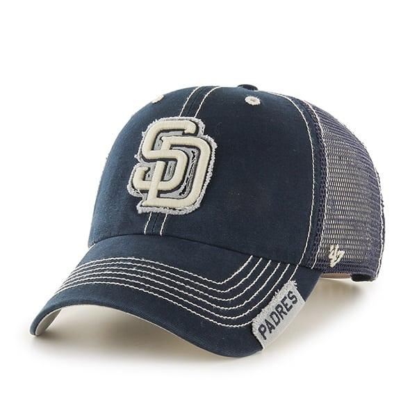 San Diego Padres Turner Clean Up Navy 47 Brand Adjustable Hat