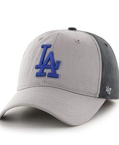 Los Angeles Dodgers Umbra Closer Dark Charcoal 47 Brand Stretch Fit Hat
