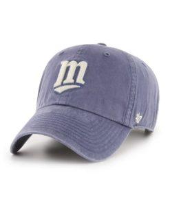 Minnesota Twins 47 Brand Cooperstown Hudson Clean Up Adjustable Hat