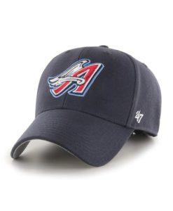 Los Angeles Angels 47 Brand Cooperstown Navy MVP Adjustable Hat