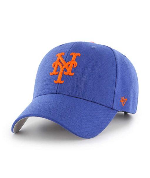 New York Mets 47 Brand Cooperstown Blue MVP Adjustable Hat