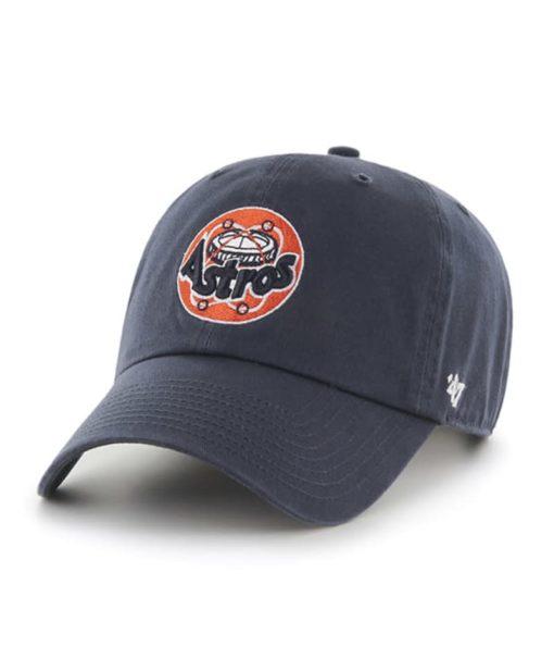 Houston Astros 47 Brand Cooperstown Navy Clean Up Adjustable Hat