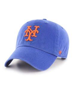 New York Mets 47 Brand Cooperstown Blue Clean Up Adjustable Hat