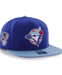 Toronto Blue Jays 47 Brand Cooperstown Blue Sure Shot Snapback Hat
