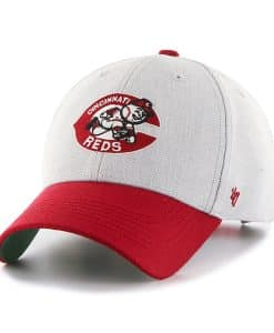 Cincinnati Reds Thurman MVP Gray 47 Brand YOUTH Hat