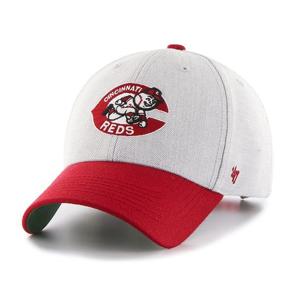 Cincinnati Reds Thurman MVP Gray 47 Brand YOUTH Hat