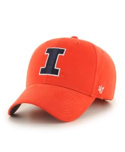 Illinois Fighting Illini 47 Brand Orange Basic MVP Adjustable Hat
