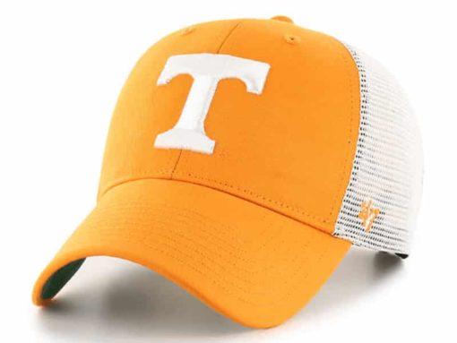 Tennessee Volunteers 47 Brand Orange Branson MVP Mesh Snapback Hat