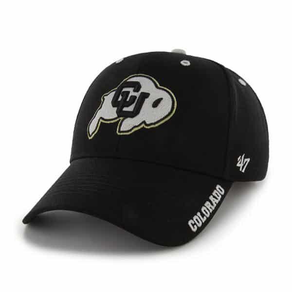 Colorado Buffaloes Frost Black 47 Brand Adjustable Hat