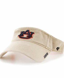 Auburn Tigers Ice Visor Khaki 47 Brand Adjustable Hat