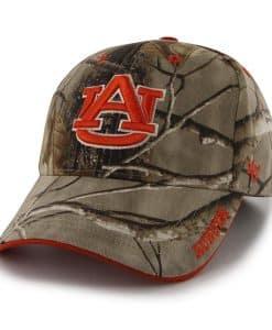 Auburn Tigers 47 Brand Camo Realtree Frost Adjustable Hat
