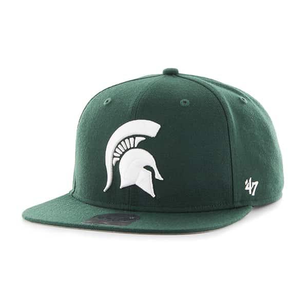 Michigan State Spartans Sure Shot Dark Green 47 Brand Adjustable Hat