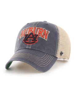 Auburn Tigers 47 Brand Vintage Navy Tuscaloosa Clean Up Hat