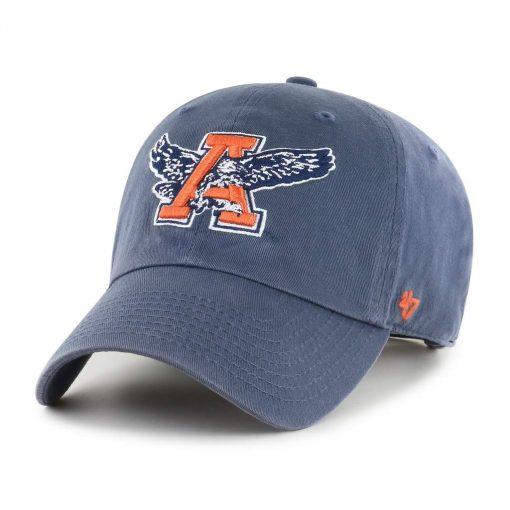 Auburn Tigers 47 Brand Clean Up Vintage Navy Adjustable Hat