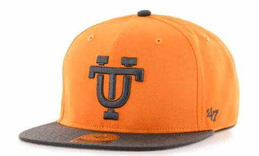 Tennessee Volunteers 47 Brand Vibrant Orange Sure Shot Two Tone Snapback Hat