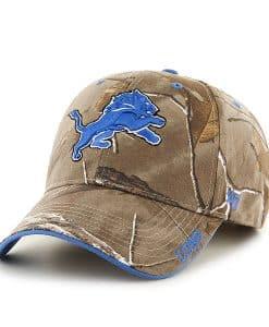 Detroit Lions Realtree Frost Adjustable Hat