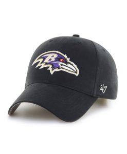 Baltimore Ravens YOUTH 47 Brand Black MVP Adjustable Hat
