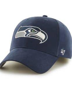 Seattle Seahawks Basic MVP Light Navy 47 Brand KID Hat