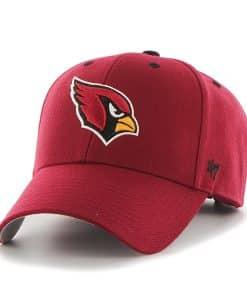 Arizona Cardinals Audible MVP Dark Red 47 Brand Adjustable Hat