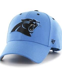 Carolina Panthers Audible MVP Glacier Blue 47 Brand Adjustable Hat
