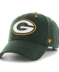 Green Bay Packers Audible MVP Dark Green 47 Brand Adjustable Hat