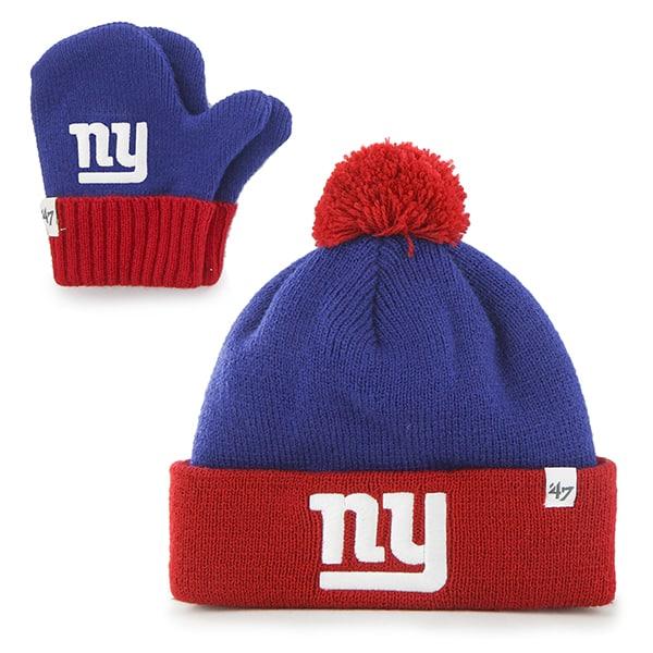 New York Giants Bam Bam Set Royal 47 Brand INFANT Hat