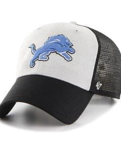 Detroit Lions Belmont Clean Up Black 47 Brand Adjustable Hat