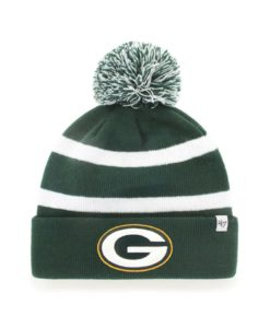 Green Bay Packers 47 Brand Dark Green Breakaway Cuff Knit Hat