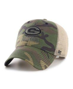Green Bay Packers 47 Brand Camo Branson MVP Adjustable Hat