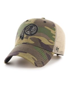 Washington Redskins 47 Brand Branson Camo MVP Adjustable Hat