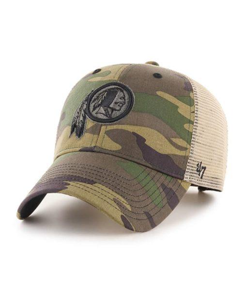 Washington Redskins 47 Brand Branson Camo MVP Adjustable Hat