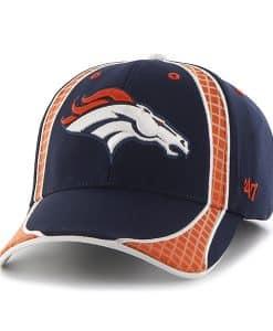Denver Broncos Clu Light Navy 47 Brand Adjustable Hat