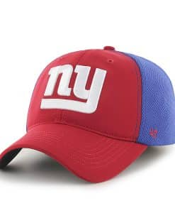 New York Giants Draft Day Closer Red 47 Brand Stretch Fit Hat