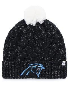 Carolina Panthers Fiona Cuff Knit Black 47 Brand Womens Hat