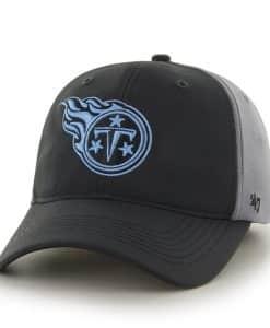 Tennessee Titans Feldspar Closer Dark Gray 47 Brand Stretch Fit Hat