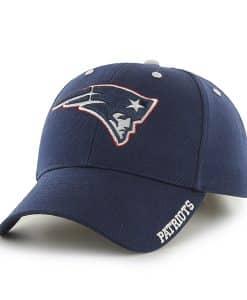 New England Patriots Frost Light Navy 47 Brand Adjustable Hat