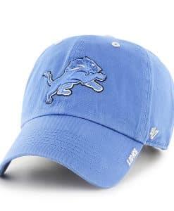 Detroit Lions Ice Blue Raz 47 Brand Adjustable Hat