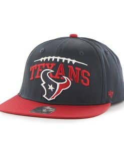 Houston Texans Laces Out Captain Navy 47 Brand KID Hat